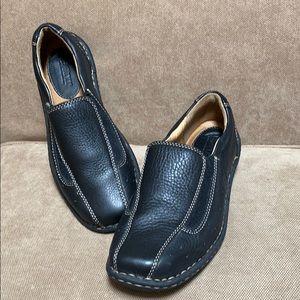 Black Born Slip on loafers